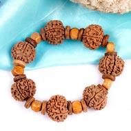 7 Mukhi Nepal Rudraksha beads bracelet