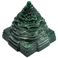 Green Jade Shree Yantra - 169 gms
