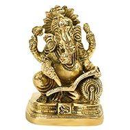 Lord Ganesha writing the Mahabharat