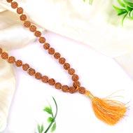 Rudraksha Mala 7mm - Chikna beads - II