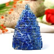 Lapis Lazuli Shree Yantra - 234 gms