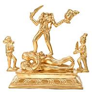 Goddess Chinnamasta idol in Bronze