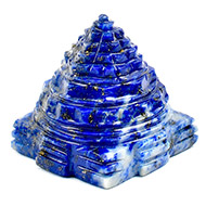 Lapis Lazuli Shree Yantra - 51 gms