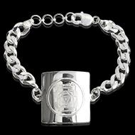 Mahakali Yantra Bracelet in silver