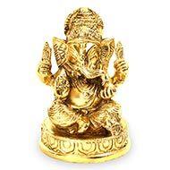 Lord Ganesha in Brass - I