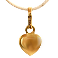 Heart Locket in pure gold
