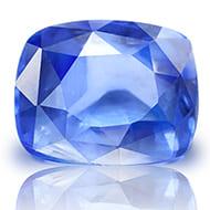 Blue Sapphire - 3.61 carats - Cushion