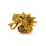 Shankh Diya in Brass