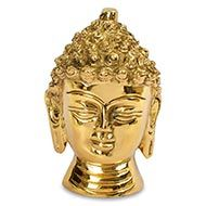 Buddha Face Statue made in Brass - IV