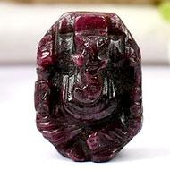 Ruby Ganesh - 60 carats