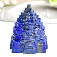 Lapis Lazuli Shree Yantra - 183 gms - I