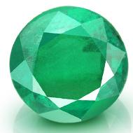 Emerald 4.15 Carats Zambian - Round