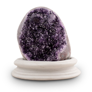 Amethyst Gemstone Rock - II