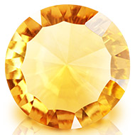 Yellow Citrine Superfine Cutting - 5 to 6 carats - Round