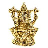 Ganesh on Lotus - II