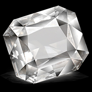 White Sapphire - 4.03 carats
