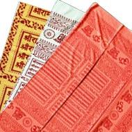 Shri Ram Jai Ram Jai Jai Ram shawl