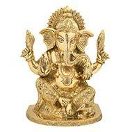Ganesha in Brass - VII