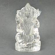 Sphatik Crystal Shiva Idol - 295 gms