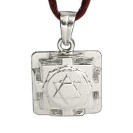 Kamdev Yantra Locket in Silver - 3D