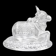 Nandi in Pure Silver - I