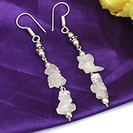 Moonstone Earring