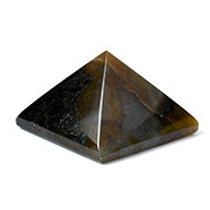 Pyramid in Labradorite-Support and stability - II