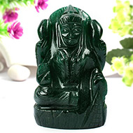 Laxmi in Green Jade-234 gms
