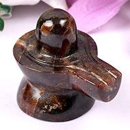 Gomed Hessonite Shivlinga - 101 gms