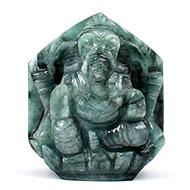 Ganesha in Emerald -  168 carats