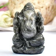 Black Ketu Ganesha - 73 gms