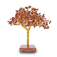 Natural Red Jasper Chakra Vastu Tree - Big