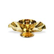 Oil Lamp in Brass-LI