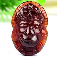 Hanuman in Gomed - 23.80  Carats