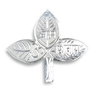Bel Patra in Pure Silver