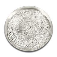 Puja Thali in German Silver