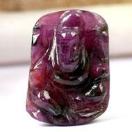 Ruby Ganesh - 19.50 carats