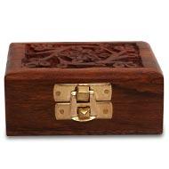 Wooden Rudraksha Chest
