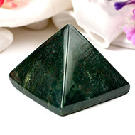 Pyramid in Bloodstone