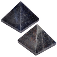 Pyramid in Blue Jade - Set of 2