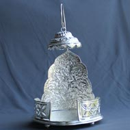 Royal God Throne in German Silver