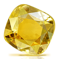 Yellow Sapphire - 6.86 carats
