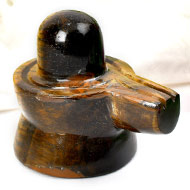 Shivlinga in Tiger Eye - 85 gms