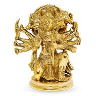 Punchmukhi Hanuman in Brass