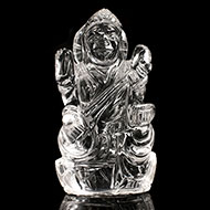 Saraswati in Crystal - 62 gms