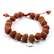 9 mukhi Durga Shakti bracelet from Java in si..