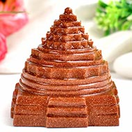 Shree Yantra in Sunstone - 113 gms