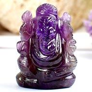 Ganesha in Amethyst - 31 gms - I