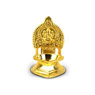 Ganesh Diya in brass - IV