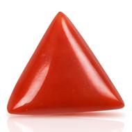 Italian Coral triangular- 7.50 carats
